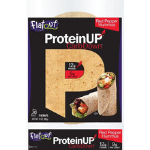 ProteinUP Red Pepper Hummus Wraps by Flatout, 10 oz.