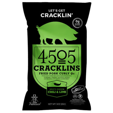 Artisanal Cracklins by 4505 Meats, 3 oz.
