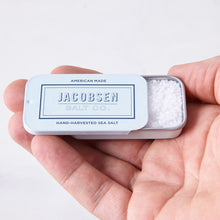 Sea Salt Slide Tins by Jacobsen Salt, 0.42 oz.