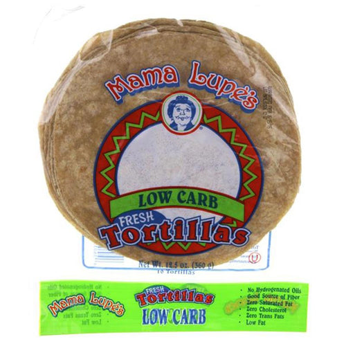 Low Carb Tortillas by Mama Lupe, 12.5 oz.