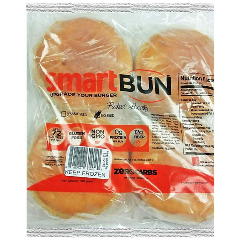 Smart Buns (Plain) by Smart Baking Company, 9.87 oz.