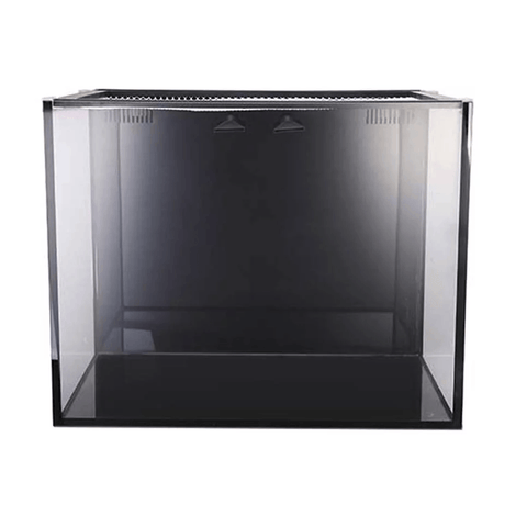 Fusion 40 Gal Micro Kit Aquarium Black W/Pump - No Stand 24lx20wx19h Innovative Marine Nuvo