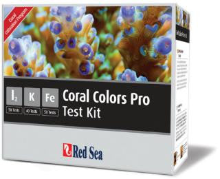 Red Sea Reef Colors Pro Salt Water Multi Test Kit