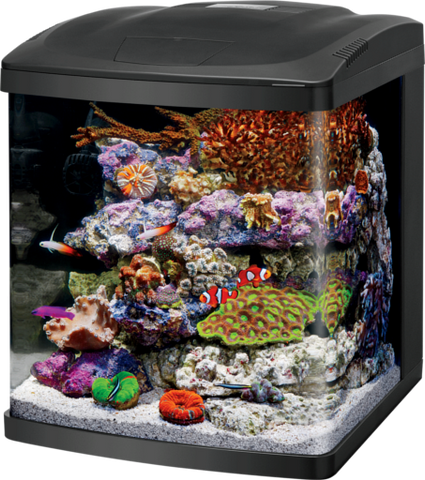 Coralife 16Gal BioCube LED Aquarium Kit Black