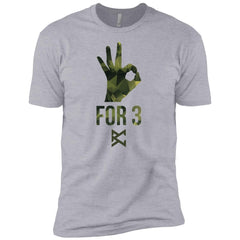Youth For 3 T-Shirt - Camo