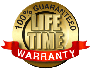 Life Time Guarantee          (Expedited Shipping Included!)