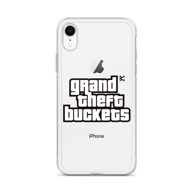 Grand Theft Buckets iPhone Case