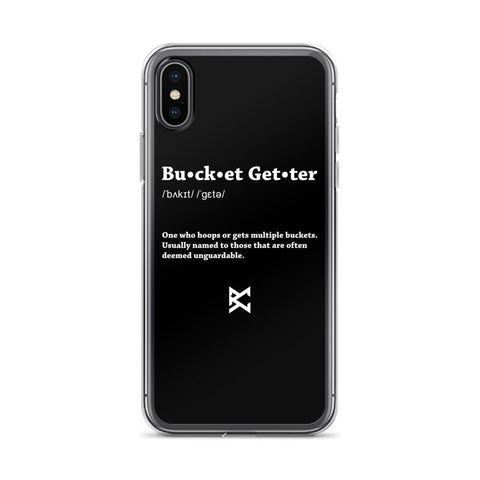 Bucket Getter iPhone Case