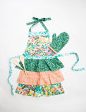 Little Girl Ruffle Apron