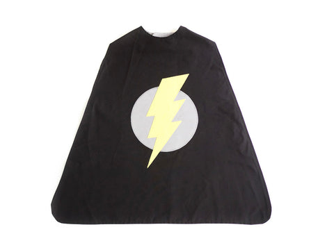 Lightening Bolt Super Hero Cape