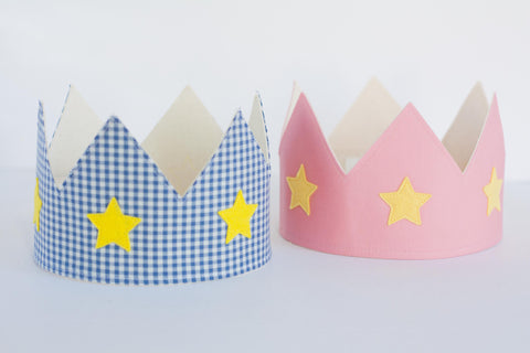 Dress Up Crowns with Star Applique
