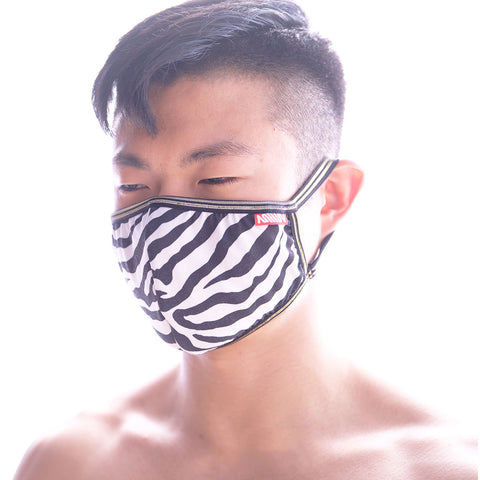 [M2W] Face Mask Zebra (0111-68)