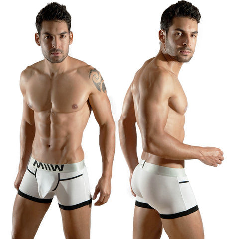 [M2W] Perfect Scene Hip Trunk White (1013-00)