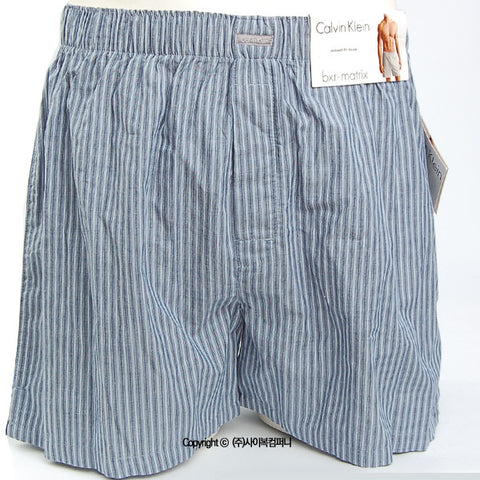 [Calvin Klein] Woven Relaxed Fit Boxer (U1147-60S)