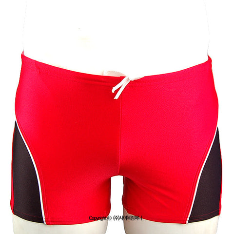 [Speedo USA] Redline Square Leg Red (7300001)