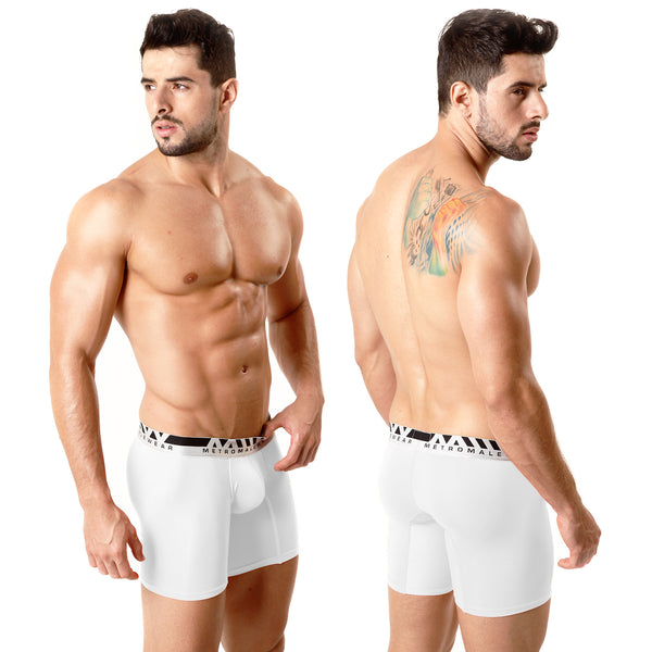 [M2W] Mid Boxer Crystal 10Inch White (2023-00)
