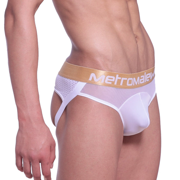 [M2W] Speed Jock Strap White (2301-00)