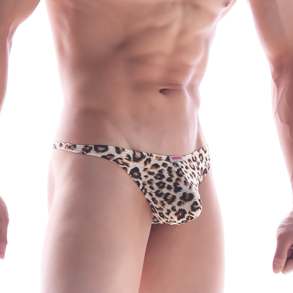 [M2W] Pouch Thong Leopard (2302-60)