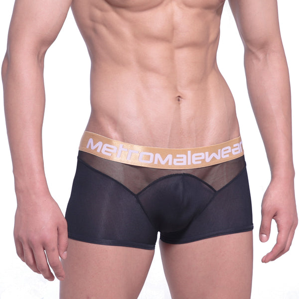 [M2W] Speed Mesh Hip Trunk Black (2314-20)