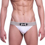 [M2W] Football Jock Strap White (2901-40)