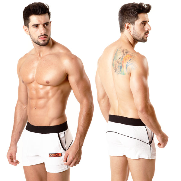 [M2W] Terry Sport Short White (4701-00)