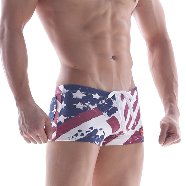 [M2W] Cotton Short Patriot RED (4702-91)