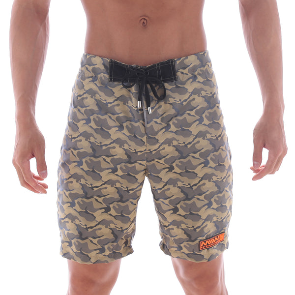 [M2W] Physique Board Short Gold Camo (4706-63)