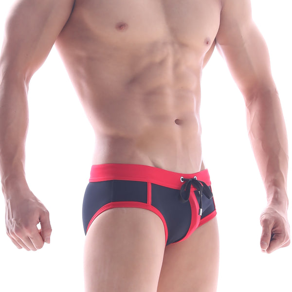 [M2W] Frame Swim Brief RED (4916-80)