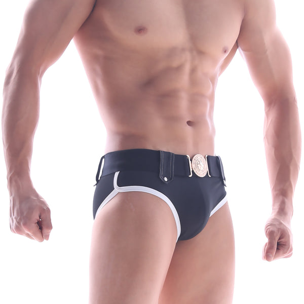 [M2W] Gothic Swim Brief Black (4927-20)
