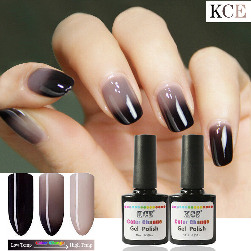 New Product Gel Nail Polish Temperature Change Nail Color UV Gel ...