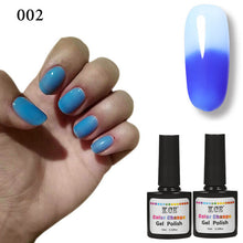 New Product Gel Nail Polish Temperature Change Nail Color UV Gel Polish 7.5ml/pcs Nail Gel for Nail soak off gel polish