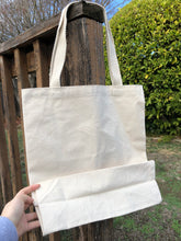 Bunny Grocery List Square Tote bag