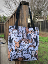 Bunnies Everywhere Twotone Tote bag