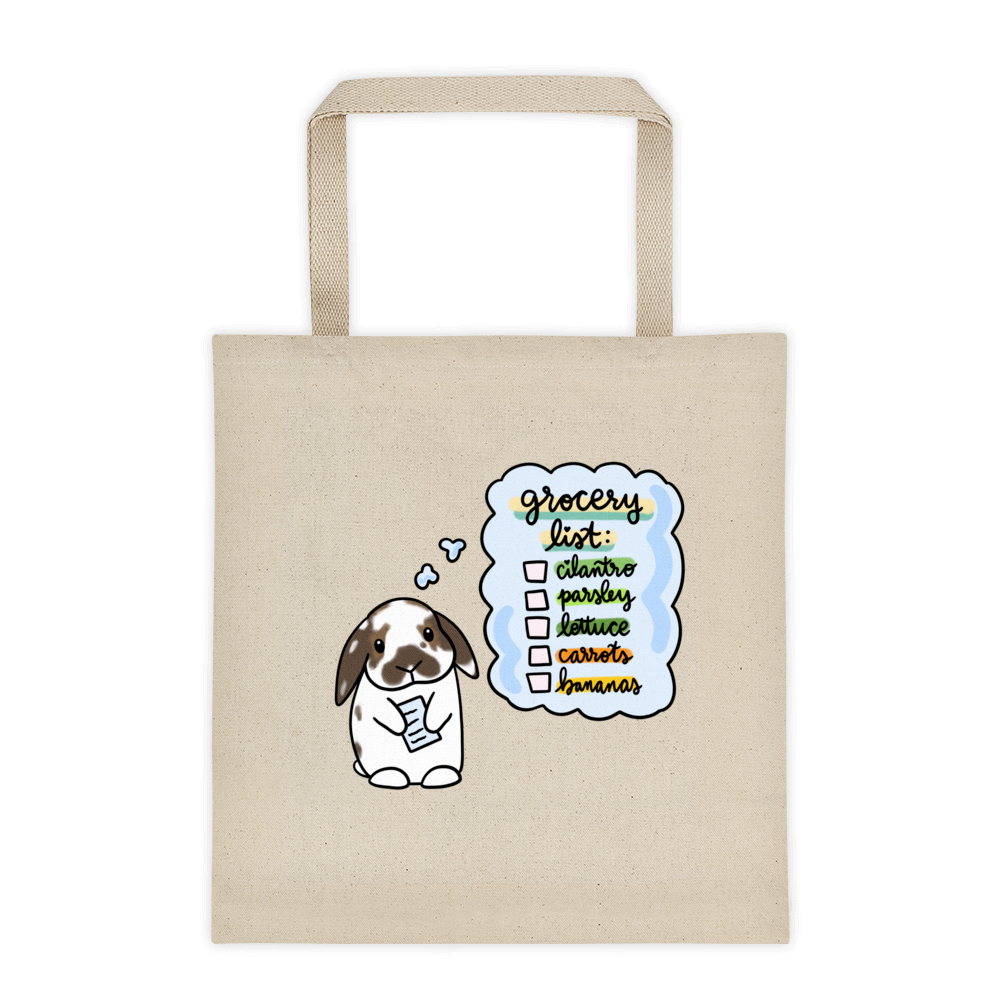 Chee Cheong Fun Square Tote bag