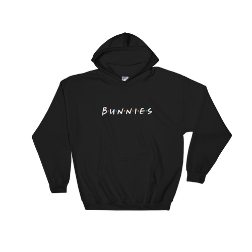 BUNNIES Hooded Sweatshirt (Dark Colors)