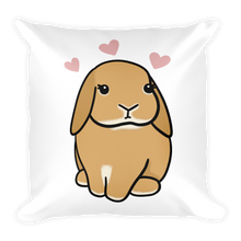 Hopping Butter Square Pillow