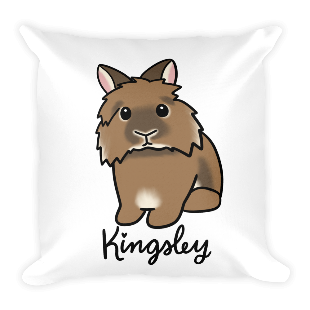 Kingsley the Lionhead Basic Pillow