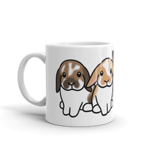 Norman Wallie Penny Rupert Mug