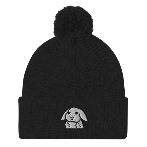 I Do What I Want Lop Pom-Pom Beanie