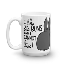 I Like Big Buns Grey Mug