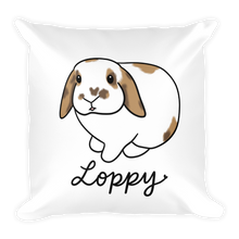 Loppy Square Pillow