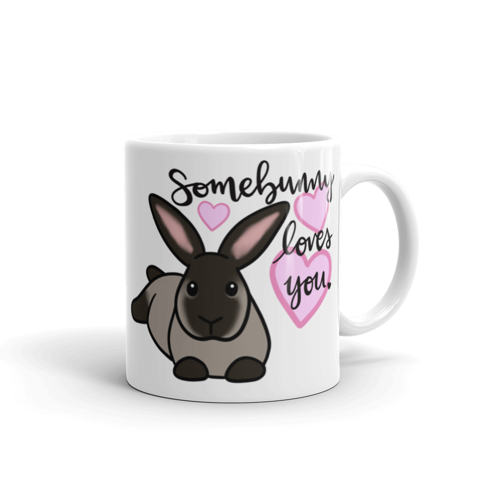 Somebunny Loves You Fritz Mug