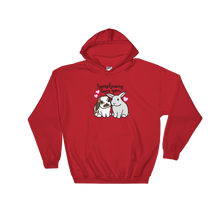 Somebunny Loves You Hooded Sweatshirt (Lop x Uppy)