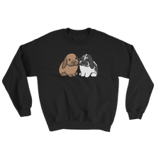 Two Lops Brown and B&W Sweatshirt