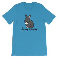Grey Bunny Mommy Unisex T-Shirt