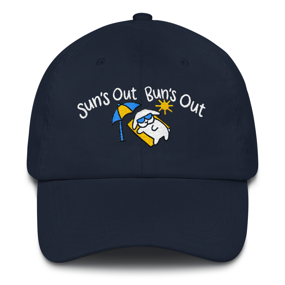 Suns Out Buns Out Custom Cap