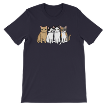 Four Kitties Group Unisex T-Shirt
