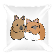 Herman And Phoebe Square Pillow