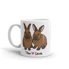 T-Rex And Cocoa Mug
