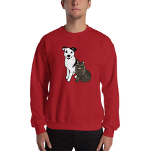Spotted Dog Fluffy Cat Sweatshirt